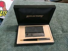 Reflections Fine Writing Instruments Pen & Card Holder  W-41