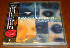 Japan CD W/OBI David Lee Roth-Your Filthy Little Mouth WPCP-5780