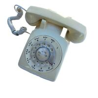 Western Electric Bell 500DM R82-3 Rotary Telephone Vintage 1970's  Mid Century