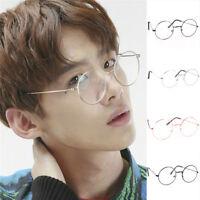 Vintage lunettes rondes hommes femmes cadre en métal  C LTA