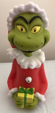 """Hallmark 8"""" Grinch in the Fridge Sing Talking Santa Outfit 2013 CollectibleRare"""