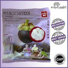 MANGOSTEEN Fruit Soft Chewy CANDY Sweet Sweetmeats Lollipops - 110g (3.88oz)