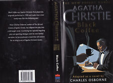 AGATHA CHRISTIE ( AND CHARLES OSBORNE ) BLACK COFFEE  FIRST EDITION Poirot