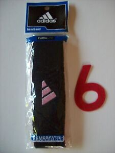 Adidas Headband Interval Reversible Running Workout Sport Team Color New