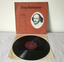 "ALLS WELL THAT ENDS WELL Vintage LIVING SHAKESPEARE 1964 12"" 33 RPM LP DEOB 16AS"