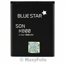 BATTERIA ORIGINALE BLUE STAR 1100mAh LITIO PER SONY ERICSSON NAITE P990I SATIO