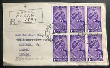 1949 Gilbert Ellice Islands first day cover King George 6 Royal Silver Wedding B