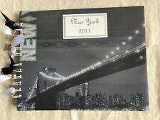 New York 2011 scrapbook or photo album