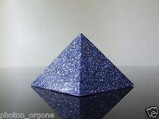 Orgone 5th Gorge Chakra Pyramide Turquoise Lapis Lazuli Aquamarine Sodalite