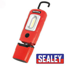 SEALEY LED3601R RECHARGABLE 360 INSPECTION LAMP 2W COB LED RED
