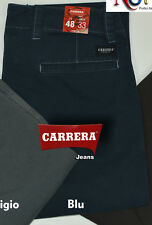 Pantalone Carrera 7145/pa945 Spintech Elastico gabardina invernale Tasca America 48 Grigio