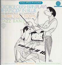 "GEORGE GERSHWIN PLAYS RHAPSODY IN BLUE Vinyl 12"" LP-33 Music Album EX 1981"