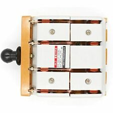 Baomain 4 Pole Double Throw Electric Brake Safety Knife Switch 380v 100a Home