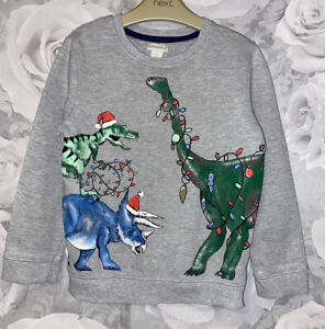 Boys Age 5-6 Years - Christmas Sweater From Monsoon
