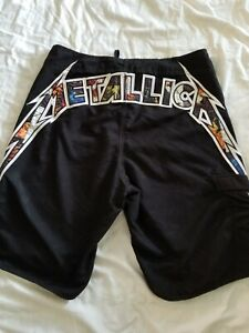 Metallica Billabong Limited Edition Embroidered Board Shorts  size 36