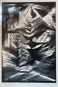 "Bernard Brussel-Smith - ""Stonington Harbor: Detail 1"", 1961 (15.25""x10.75)"