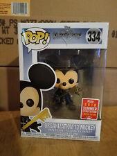 Kingdom Hearts Organization 13  Mickey Funko Pop #334 Boxlunch SDCC Exclusive