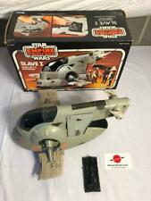 1980 Slave-1 Complete With Box Vintage Star Wars Kenner Vehicle (- pop)