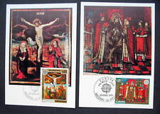 ANDORA EUROPA 1975 FDC MAXIMUM CARDS