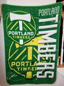 Portland Timbers Soccer The Northwest Company Fleece Throw Blanket