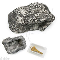 Outdoor Spare House Safe Hidden Hide Security Rock Stone Case Box for Key Hider