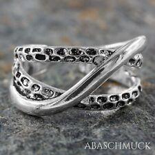 Silberring Silber 925 Ring  Verstellbar Offen R0814 🥻