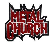 Metal Church Patch Heavy Speed Thrash Power Metal Band Logo