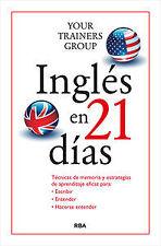 Inglés en 21 días. NUEVO. Nacional URGENTE/Internac. económico. AUTOAYUDA
