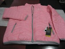 Under Armour Girls ColdGear Reactor Jacket PINK Youth EXTRA LARGE YXL NWT