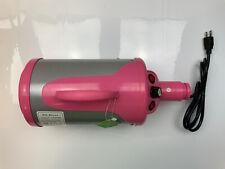 Shelandy Pet Dryer, STL1902, 120V, 2800W, 50/60Hz, Pink (READ)