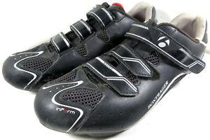 Bontrager Sol Road Cycling Shoes Size 11 Women's 10 Men's Black Silver