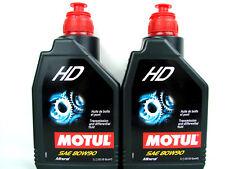 2liter MOTUL HD SAE 80W90 OLIO CAMBIO minealisches HYPOID mehrzweckgetriebeöl