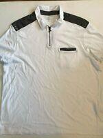I.N.C International Concepts New Hanging Polo Short Sleeve Shirt Men's 3XL