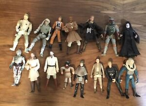 Star wars figure lot