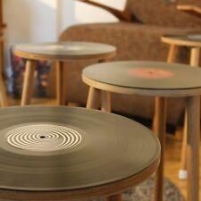 VIBYL - Side Table Handmade With Genuine Vinyl LP Record Retro Mid Century NEW