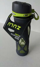 Zulu Atlas High Performance One Touch Glass Water Bottle W Protective Sleeve Nwt