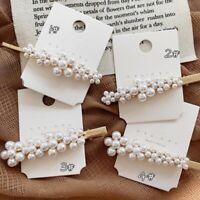 Pearl Flower Hairpins Vintage Barrettes Hair Clips Hair Accessories Hairgrip