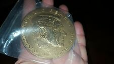 RONALD REAGAN BRONZE SEALED MEDAL US TREASURY BUREAU OF THE MINT SIGNED E. JONES