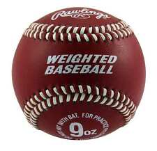 RAWLINGS WEIGHTED 9 OUNCE TRAINING BASEBALL TO BUILD ARM STRENGTH