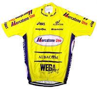 MERCATONE UNO RETRO VINTAGE CYCLING TEAM BIKE JERSEY - MARCO PANTANI