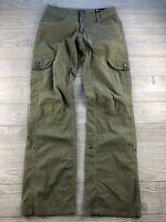 """KUHL"" Women's Size 2 X 32"" Green Hiking Adjustable Pants"