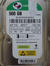 500 GB Mediamax WL500GSA3254G / 2060-701640-007 REV A / disco rigido *