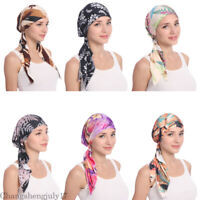 Women Hijab Hat Cancer Head Hair Loss Scarf Cap Islamic Muslim Wrap Caps Arab
