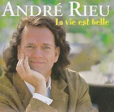 CD 17T ANDRE RIEU LA VIE EST BELLE DE 2000