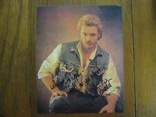 JOHN  SCHNEIDER    The Dukes  of Hazzard/Bo  Duke  Signed  8 X 10  Color   Photo