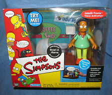 Simpsons WOS BOWL-A-RAMA w/PIN PAL APU Interactive Enviroment Talking MIB
