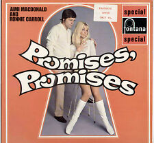 AIMI MACDONALD & RONNIE CARROLL ~ PROMISES PROMISES ~ 1969 UK 12-TRACK STEREO LP