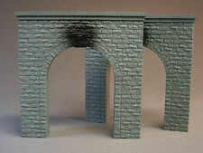 MTH RAIL KING O GAUGE SINGLE TRAIN TUNNEL PORTALS PAIR train accessory 40-9014