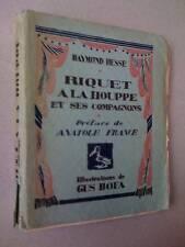Gus Bofa Raymond Hesse Riquet a la Houppe EO Rives 1923