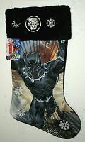 Marvel Comics Black Panther Christmas Holiday Stocking New Tags